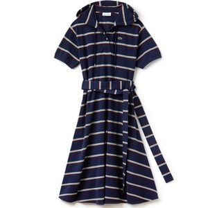 New with tags Lacoste hooded dress with belt.